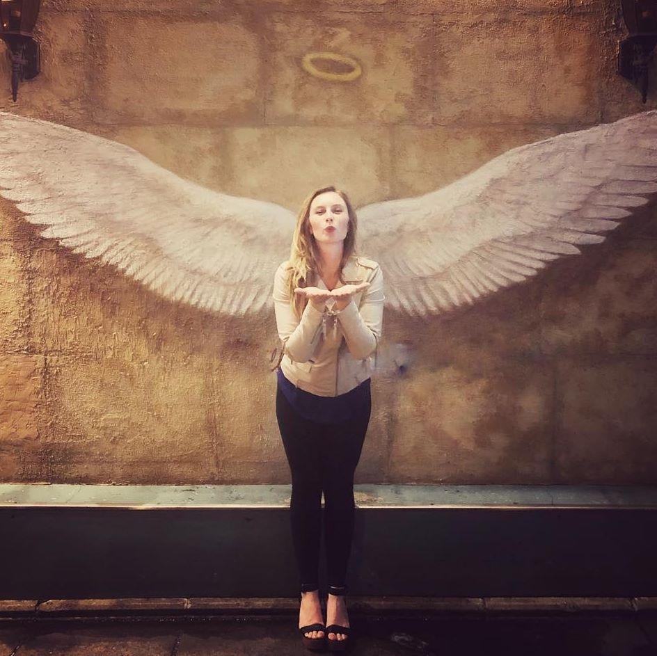 Angel Teal